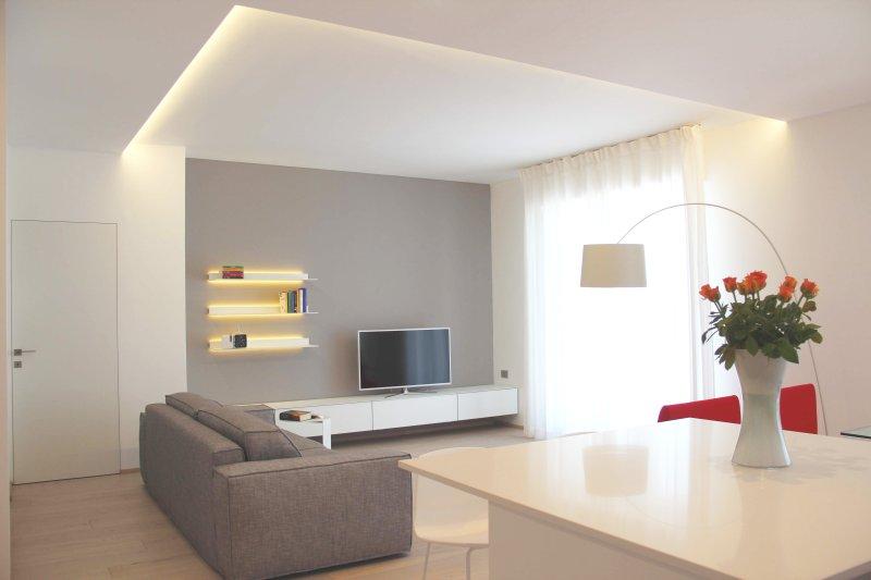 Illuminazione soggiorno con controsoffitto lampadari lampade