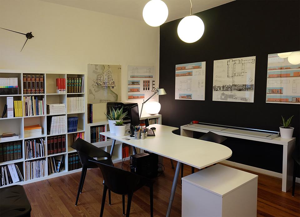 Elisa rizzi architetto l 39 architettura il gioco for Design stanza ufficio
